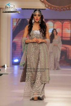 Pakistani bridawal couypur week june2015 #pbw designer #shazia kiyani pinned by #sidra younas