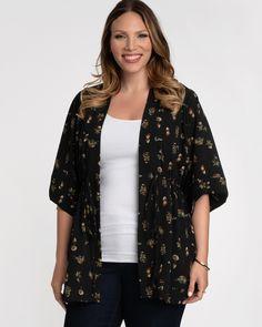Plus Size Kimono Tunic   Buy Kimono Cardigan   Kiyonna
