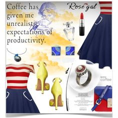 Designer Clothes, Shoes & Bags for Women Coffee Break, Fashion Outfits, Womens Fashion, Playing Dress Up, Color Combinations, Polyvore, Give It To Me, Plus Size, Avon