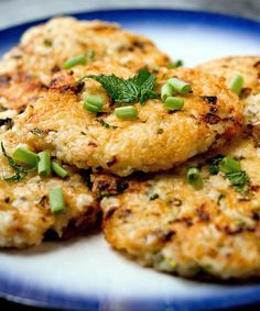Have leftover rice? Try cooking up these rice cakes.