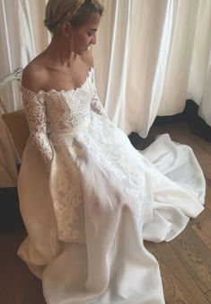 Wedding Dress,Custom Wedding Dress,Romantic wedding dress,Mermaid Wedding Dress,Lace   #BridalDresses #WeddingGowns #Wedding #WeddingDresses