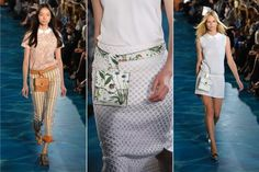 Trend Alert: Fanny Packs for Spring 2014.... http://www.treschicstyle.net/2013/09/chic-nyfw-news-tory-burch-delivers.html #NYFW #ToryBurch