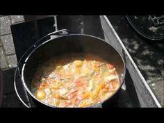Hähnchen Curry aus dem 12er Dutch Oven (Dopf) - YouTube