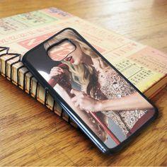 Taylor Swift Singer Red Samsung Galaxy S7 Case