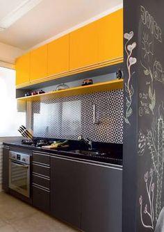 Resultado de imagem para cozinha cor cinza ou fendi