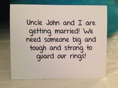 Will You Be My Ring Bearer Wedding Card by BlingSparklesOhMy, $2.98