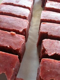 Red Currant Beer Soap via Etsy.