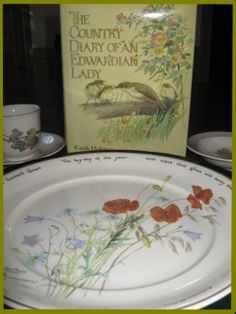 The book that inspired my kitchen some 28 years ago    Edith Holden's Country Diary Of An Edwardian Lady has brought me much pleasure over the last 30 years.