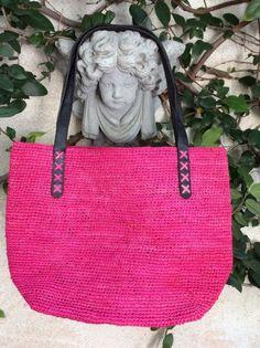 Helen Kaminski Raffia Bag   Annabel Ingall Australia Raffia Leather Shopper  Tote b1ec6d5c7281c