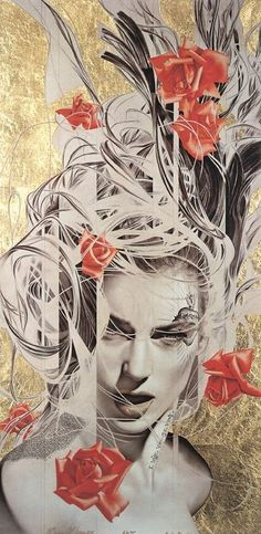 Manuel Nunez. Картина Baby Rose