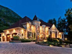 Beautiful Stone Mansions