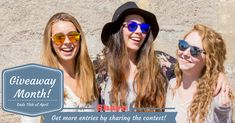 Win a Pair of Reflective Round Wood Sunglasses