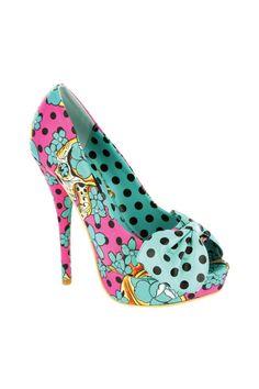 Designer Clothes, Shoes & Bags for Women Stiletto Heels, High Heels, Shoes Heels, Pumps, Polka Dot Heels, Polka Dots, All About Shoes, Your Shoes, Shoe Game
