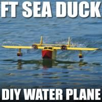 This DIY RC plane is inspired by the Sea Duck from the cartoon Tail Spin. http://flitetest.com/articles/ft-sea-duck-review