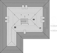 Projekt domu Marcel G2 128,96 m2 - koszt budowy 254 tys. zł - EXTRADOM Marcel, Floor Plans, Blue Prints, Plants, Floor Plan Drawing, House Floor Plans