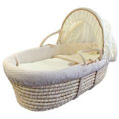 IZZIWOTNOT 'Cream Gift' Mais Babykurv Duo - Babykurv + Sammenleggbar Stativ Frifrakt Kr 1499 Moses Basket, Bassinet, Waffles, Elegant, Yahoo Search, Furniture, Baby Ideas, Image Search, Home Decor