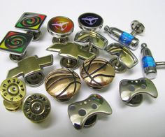 HOLY COW!! These are amazing! I am inspired. DIY cufflinks.