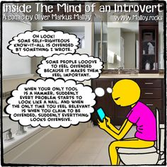 #kindle #book #books #deepthoughts #toilet #bathroom #funny #quotes #comics #cartoons #memes #introvert #introverts #offensive #offended #politicalcorrectness #politicallycorrect #politicallyincorrect