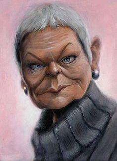 Dame Judi Dench (by Derren Brown):