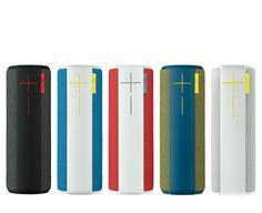 UE Boom 360-degree Waterproof Bluetooth Speaker - love all the great colors.