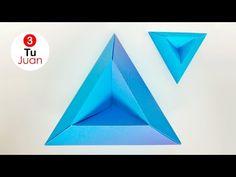 Rombo en Origami - Decoración | Manualidades - DIY - YouTube
