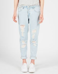 Glassons Straight Vintage Look Boyfriend Jeans