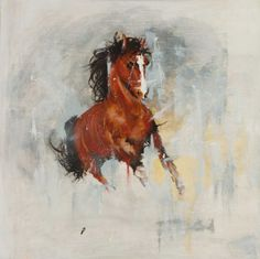 "Saatchi Online Artist: Carlos Sanchez; Oil, 2011, Painting ""Horse"""