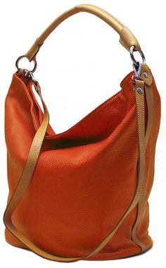 leather tote bucket bag
