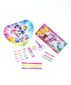 Look at this My Little Pony School Set on #zulily today!