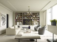 16 Pristine White Rooms on The Study: The @1stdibs Blog | http://www.1stdibs.com/blogs/the-study/white-rooms/