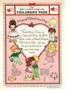 Miss Missy Paper Dolls: Joan Walsh Anglund Vintage Valentines, Happy Valentines Day, Valentine Ideas, Valentine Stuff, Valentine Cards, Paper Toys, Paper Crafts, Joan Walsh, Holly Hobbie