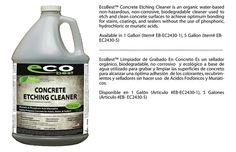 Etching Cleaner - Eco Best   Eco Friendly Stains, Sealers, & Cleaners