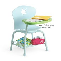American Girl Doll School Desk