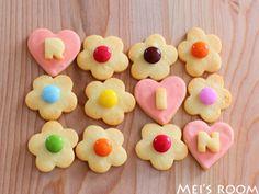 花クッキーとラッピング