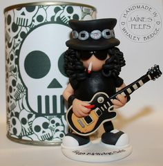 Slash with Rock Peeps Packaging | Handmade in polymer clay a… | Flickr