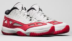 047c87ff99a Are you ready for the release of the Air Jordan 11 Low IE Fire Red   These  are expected to drop September 23th for a retail price of  170.00.