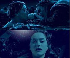So sad. Titanic Movie Facts, Titanic Quotes, Real Titanic, Titanic History, Sad Movies, I Movie, Dog Walking Flyer, Leonardi Dicaprio, Titanic Leonardo Dicaprio
