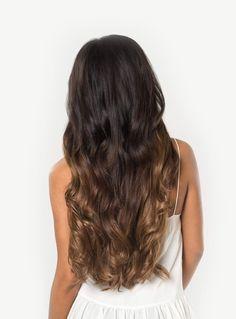 Luxy Hair - Ombre Chestnut #T1C6 - 20