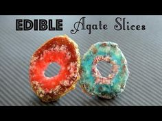 Edible Candy Agate Slices! - All