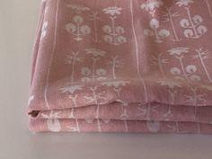 """Vintage Dora Jung for Tampella Finland """"Örtagård"""" tablecloth // Herb garden tablecloth // Al fresco dining"""