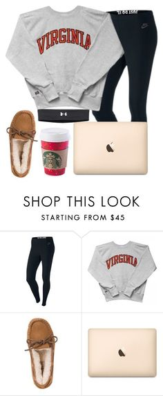 """December 18th aka the laziest day ever :)"" by daydreammmm ❤ liked on Polyvore featuring NIKE, UGG Australia and Under Armour Check our selection UGG articles in our shop!"