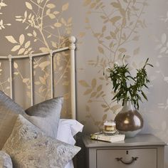 At Elegant Curtains we offer a large range of services in all aspects of curtains, blinds and soft furnishings. Interior Design Living Room, Living Room Decor, Bedroom Decor, Modern Bedroom Design, Room Wallpaper, Modern Wallpaper, Fabric Wallpaper, Office Interior Design, Designer Wallpaper