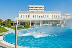 Hotel All'Alba, Piscine termali, SPA - Thermae Abano Montegrotto Hot springs, thermal swimming pools, thermalbad, горячие источники, термы