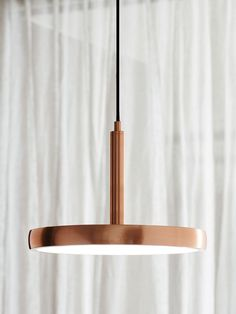 LEDlux Bennett 300mm Dimmable LED Pendant in Copper Finish | Modern Pendants | Pendant Lights | Lighting