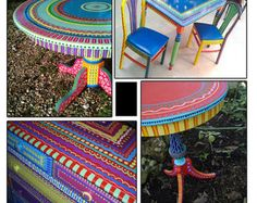 Hand Painted Furniture, Custom Hand Painted Furniture, Colorful Hand  Painted Furniture, Furniture Made