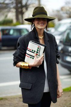 Paris Fashion Week 2014 Street Style