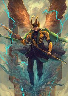 Loki - by kou-chann  Artist's Blog