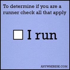 """I always say, """"I'm not a runner"""" but I guess I need to quit discrediting myself. If I run, I am a runner! Running Club, Running Humor, Keep Running, Running Quotes, How To Start Running, Running Motivation, Running Workouts, Running Tips, Fitness Motivation"""