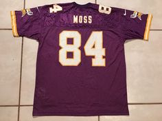 0ec612260 Vintage NIKE Minnesota Vikings Randy Moss NFL Jersey Youth XL