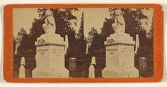 Greenwood Cemetery. Ruggles' Monument.; Edward and Henry T. Anthony & Co. (American, 1862 - 1902); about 1869; Albumen silver print; 84.XC.979.1288; Gift of Weston J. and Mary M. Naef; J. Paul Getty Museum, Los Angeles, California